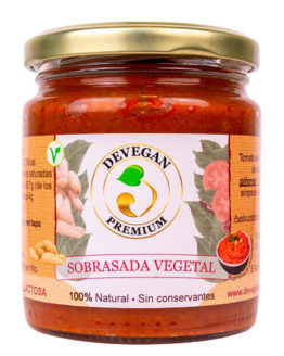 Sobrasada vegetal Devegan
